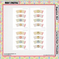 IGTB8 Girl Ice Cream Cone Wrapper