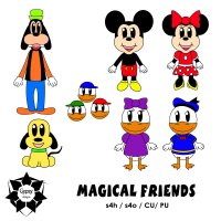 Magical Friends C