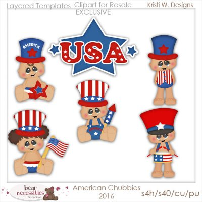 American Chubbies 2016 Templates Store Exclusive