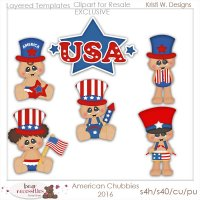 American Chubbies 2016 Clipart Store Exclusive